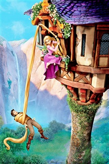 3D-Cartoon-Film Tangled iPhone Hintergrundbilder Vorschau