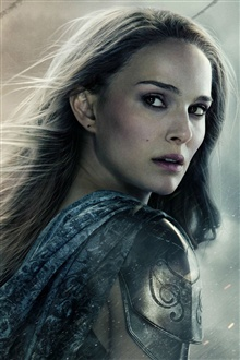 Natalie Portman in Thor: The Dark World iPhone Hintergrundbilder Vorschau