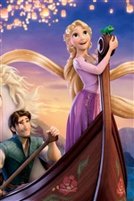 2011 Tangled iPhone Hintergrundbilder