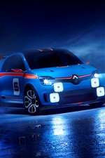 2013 Renault TwinRun Concept Car iPhone Hintergrundbilder