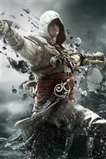 2013 Spiel Assassins Creed 4: Black Flag iPhone Hintergrundbilder