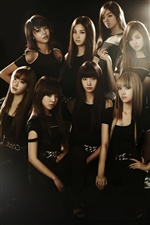 girls Generation 01 iPhone Hintergrundbilder