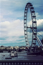 London Eye iPhone Hintergrundbilder