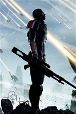 Mass Effect 3 iPhone Hintergrundbilder