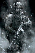 Call of Duty: Modern Warfare 2 iPhone Hintergrundbilder