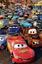 Cars 2, 3D-Film iPhone Hintergrundbilder