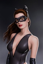 Anne Hathaway in Batman-Film iPhone Hintergrundbilder