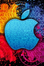 Apple-Bunter Hintergrund iPhone Hintergrundbilder