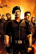 The Expendables 2 Film iPhone Hintergrundbilder