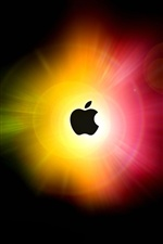 Apple-blendendes Licht Kreisen iPhone Hintergrundbilder
