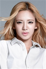 Girls Generation, Hyoyeon iPhone Hintergrundbilder