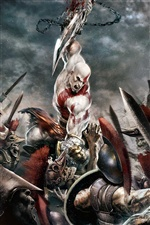 God of War 3 iPhone Hintergrundbilder