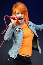 Hayley Williams 02 iPhone Hintergrundbilder