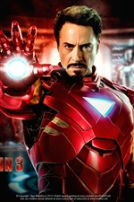 Iron Man 3, Robert Downey Jr. iPhone Hintergrundbilder