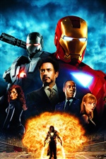 Iron Man hot Film iPhone Hintergrundbilder