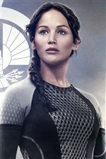 Jennifer Lawrence in The Hunger Games: Catching Fire 2013 iPhone Hintergrundbilder