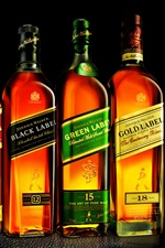 Johnnie Walker Whisky iPhone Hintergrundbilder