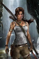 Lara Croft in Tomb Raider 9 iPhone Hintergrundbilder