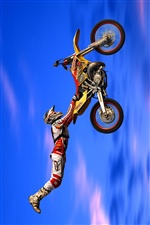 Moto Racing iPhone Hintergrundbilder