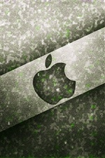 Apple-Black-Metal-Hintergrund iPhone Hintergrundbilder