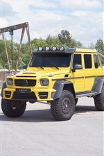 2015 Mercedes-Benz G63 AMG 6x6 Pickup iPhone Hintergrundbilder