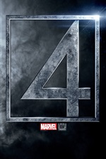 Fantastic Four logo iPhone Hintergrundbilder