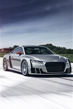2015 Audi TT clubsport Turbo Concept Car iPhone Hintergrundbilder