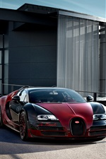 Bugatti Veyron Grand Sport Vitesse supercar iPhone Hintergrundbilder