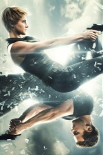 Divergierende 2, 2015-Film, Shailene Woodley, Theo James iPhone Hintergrundbilder