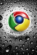 Google Chrome logo iPhone Hintergrundbilder