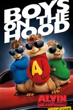 Alvin und die Chipmunks: The Road Chip 2015 iPhone Hintergrundbilder