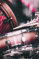 Drumsticks , Drums, Musik iPhone Hintergrundbilder